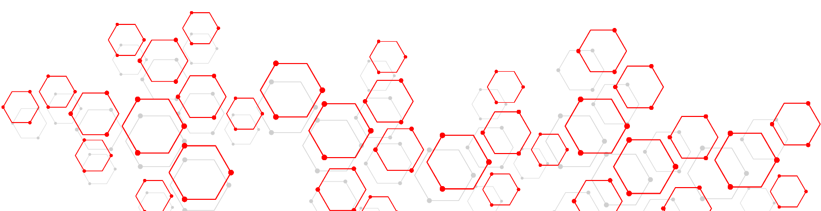 """a picture of red and gray hexagon vectors"""